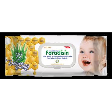 Feradisin Deluxe Islak Havlu 72 Adet