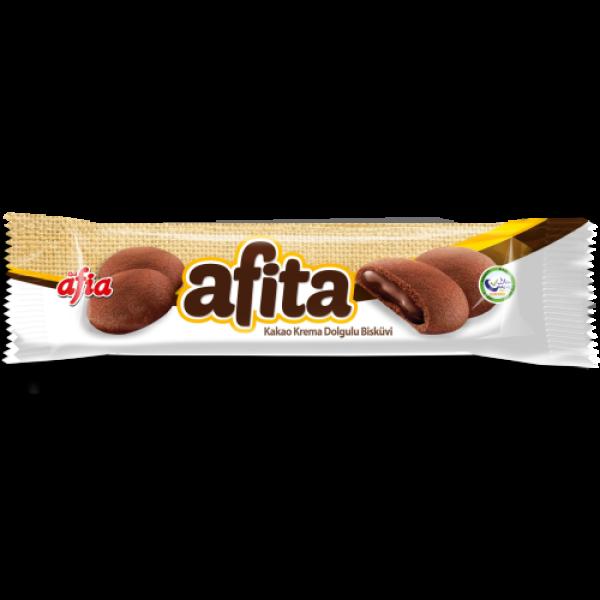 Afia Afita Kakao Krema Dolgulu Bisküvi 80 Gr.