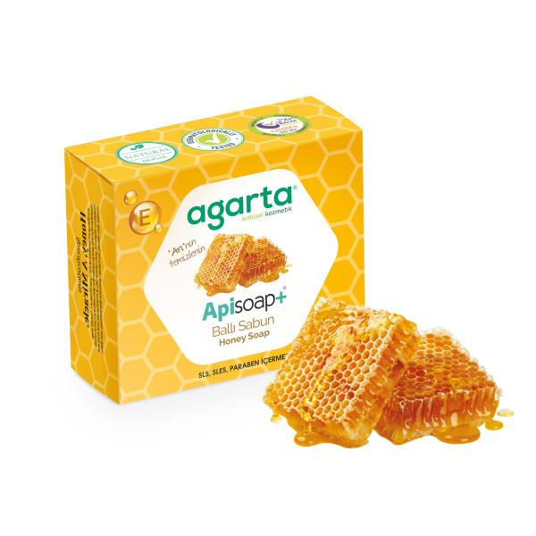 Agarta Doğal Ballı Sabun 100 Gr.
