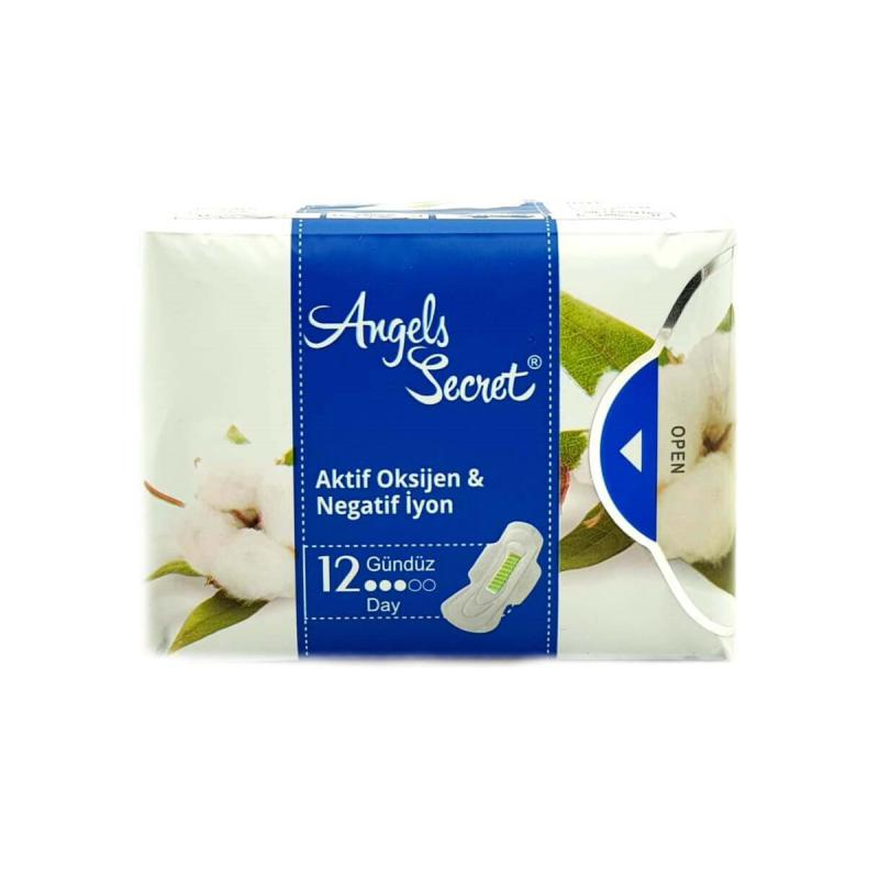 Angels Secret Hijyenik Ped Gündüz 12 Adet