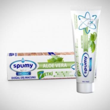 Spumy Organik Diş Macunu Aloe Veralı 100 Gr