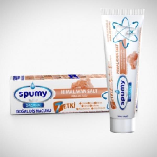 Spumy Organik Diş Macunu Himalaya Tuzlu 100 Gr
