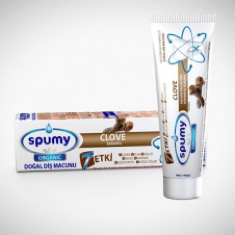 Spumy Organik Diş Macunu Karanfilli 100 Gr