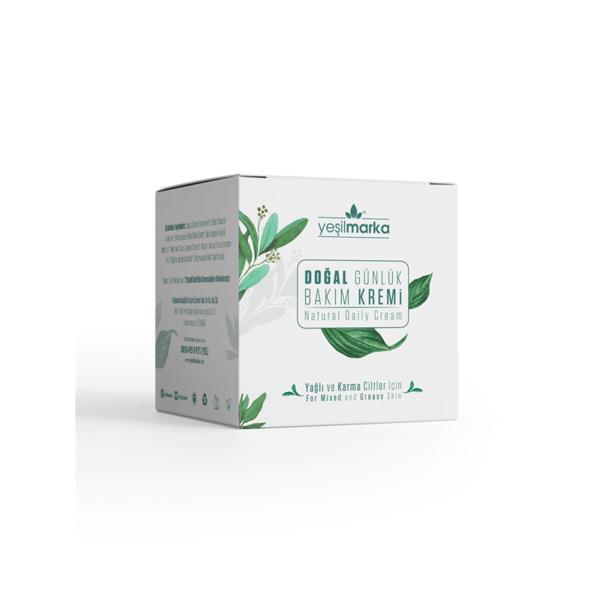 Yeşilmarka Yağlı Ve Karma Ciltler İçin Bakım Kremi 50 ML.